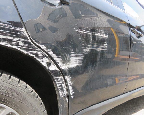 上田 三菱 RVR 板金 塗装 修理