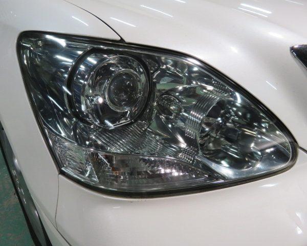 トヨタ セルシオ ヘッドライト 黄ばみ キバミ 汚れ 劣化