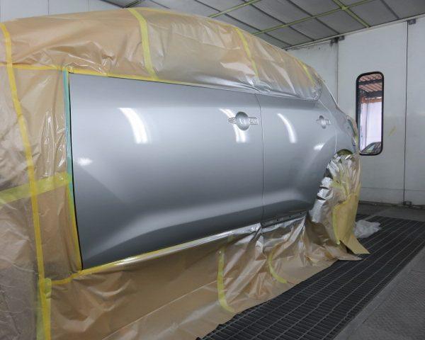日産 ムラーノ 鈑金 塗装 板金 東御 小諸 上田 佐久 ヘコミ 修理 きれい 安い 早い 代車